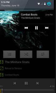 lettore audio per android