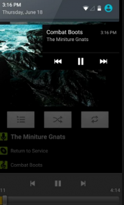 lettore audio per android