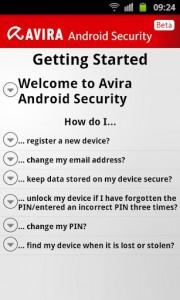 antivirus per android online