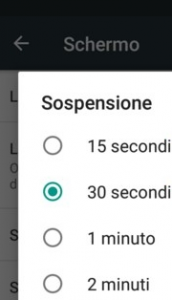 sospensione