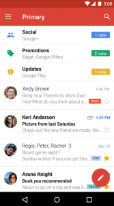 applicazioni android per gestire mail