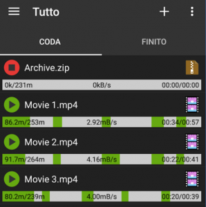 download manager per android